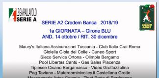 Calendario Sieco Service Impavida Ortona 2018 - 2019