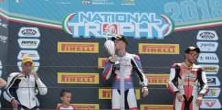 Federico D'Annunzio trionfa Misano World Circuit