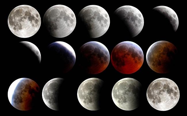 La Luna si fa rossa tra foto e desideri