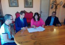 firma contratto per sede inps giulianova
