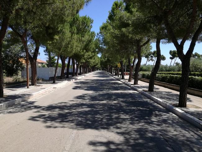 Fossacesia viale San Giovanni