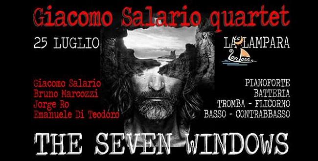 Giacomo Salario quartet a Lampara Jazz 2018