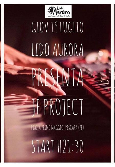 JF Project concerto Lido Aurora Pescara