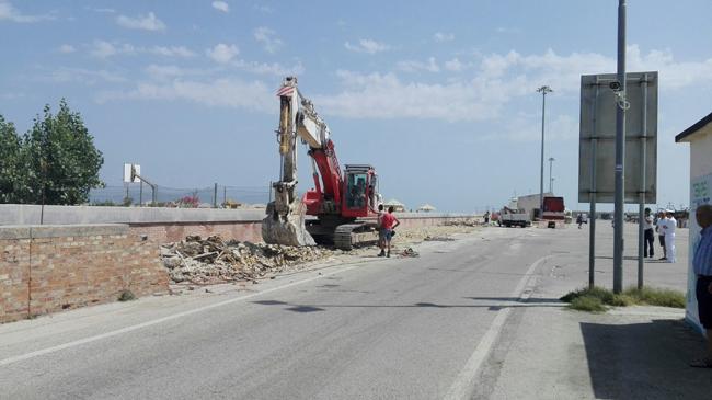 lavori ingresso porto Giulianova