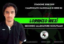 Lorenzo Iezzi vicellanatore alla Pallavolo Teatina 2018 - 2019