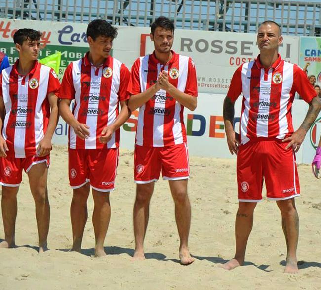 Beach Soccer Vastese finale 5° 6° posto Viareggio