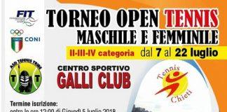 Tennis 2° Memorial Mariano Supino Chieti