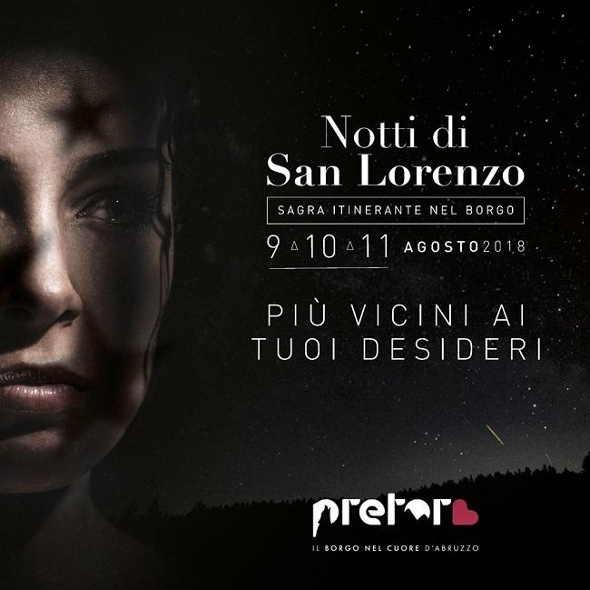 notti san lorenzo pretoro