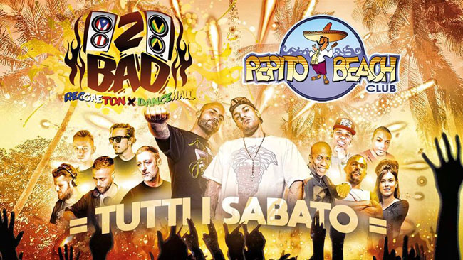 Pepito Beach 2Bad serata 100% reggaeton