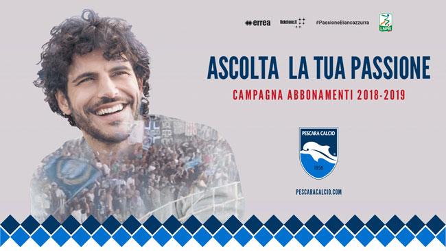 Pescara Calcio abbonamenti 2018/2019 info prezzi