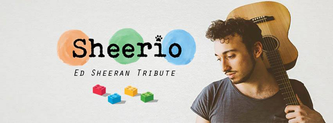 Ed Sheeran tribute Sheerio 22 luglio 2018