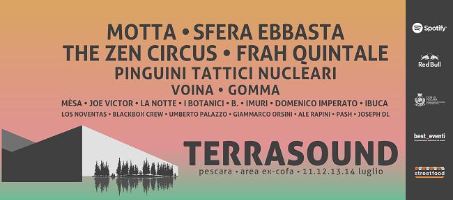 Terrasound Festival ex Cofa di Pescara programma