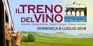 Treno del Vino sulla Transiberiana d'Italia oggi Abruzzo