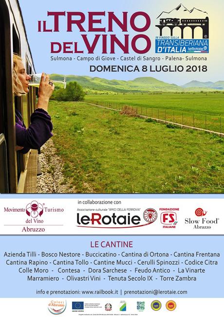 Transiberiana Dabruzzo Calendario 2020.Treno Del Vino Sulla Transiberiana D Italia Oggi In Abruzzo