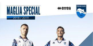 Pescara Calcio - Presentate le maglie per la stagione 2018/2019