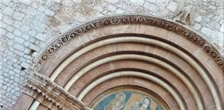 apertura della Porta Santa L'Aquila
