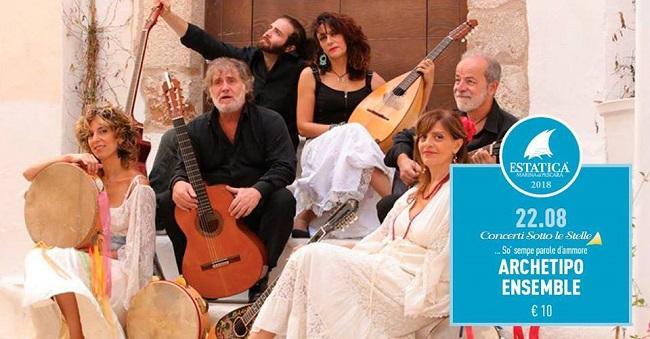 Archetipo Ensemble 22 agosto 2018