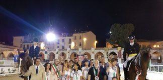 1° edizione concorso Dressage successo Bonomini