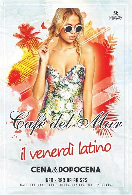 Café del mar venerdi latino