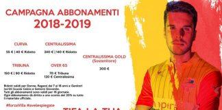 Francavilla Calcio campagna abbonamenti 2018 - 2019