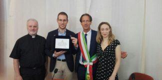 Giulianova Alessio Figalli nobel per la matematica accolto municipio