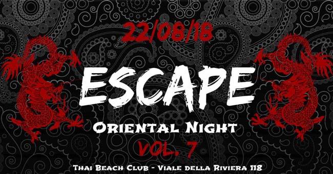 Escape 22 agosto 2018