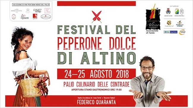 festival peperone dolce altino 2018