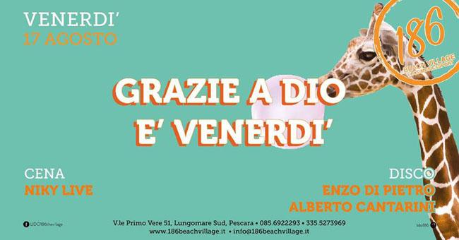Lido 186 17 agosto 2018 Pescara