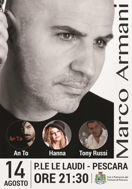 locandina Marco Armani