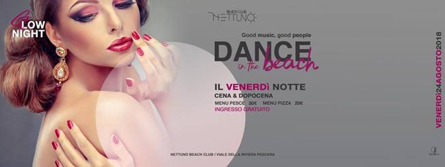 Nettuno disco a Pescara 24 agosto 2018