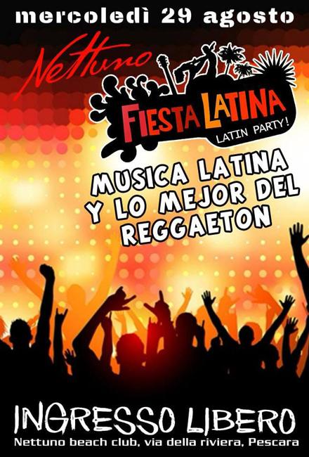 Nettuno latino e reggaeton 29 agosto 2018
