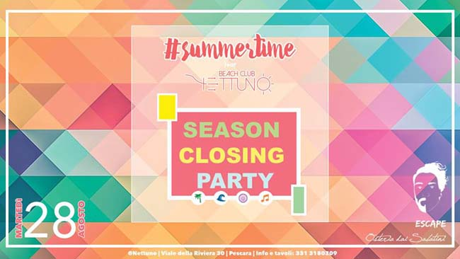 summertime Nettuno 28 agosto 2018