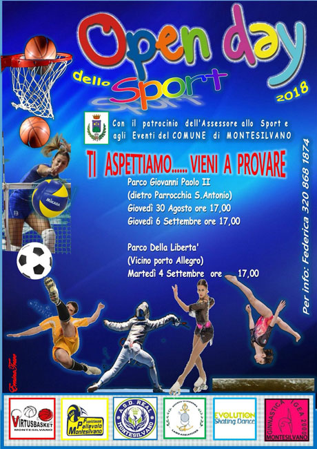 open day sport Montesilvano