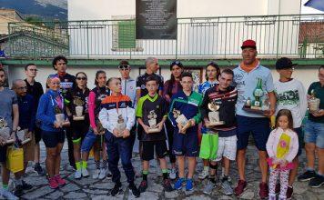 34° Cronoscalata Ciclistica di Civitella Alfedena successo Matteo Tarolla
