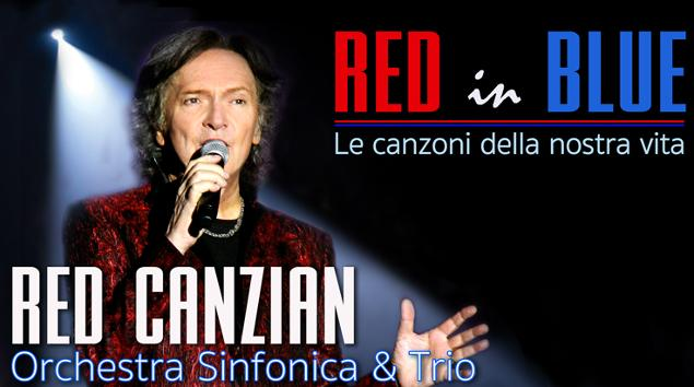 Red Canzian concerto Pescara Red in Blue
