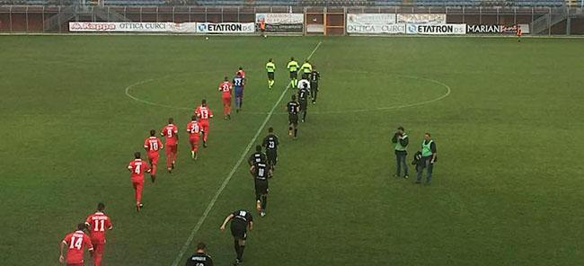 Rieti Teramo 1-2 risultato Coppa Italia