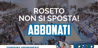 Roseto Sharks abbonamenti 2018 2019