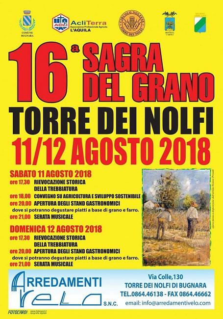 16a Sagra del Grano a Torre dei Nolfi - Bugnara (AQ)