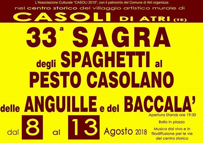sagra spaghetti pesto casolano