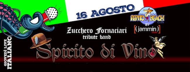 Spirito Divino 16 agosto 2018 Pepito Beach