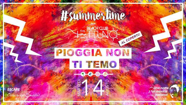 summertime Nettuno 14 agosto 2018