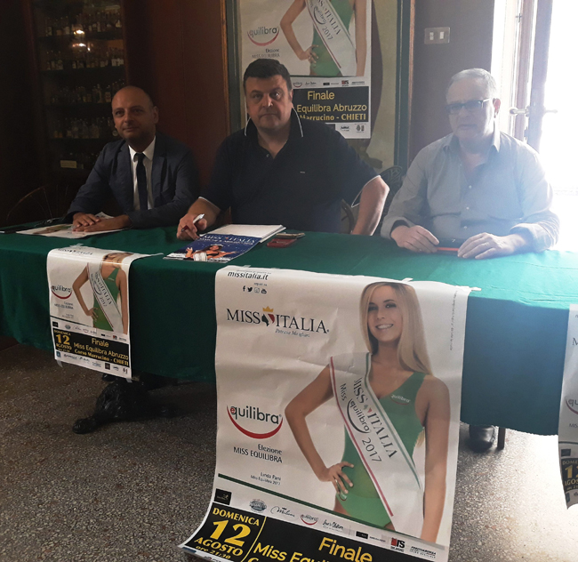 Chieti finale regionale Miss Equilibra