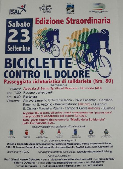biciclette dolore