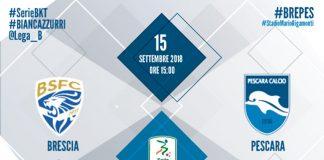 Brescia Pescara webcronaca dove seguirla