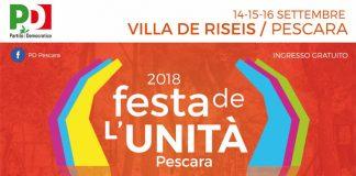 Festa dell'Unità Pescara 2018