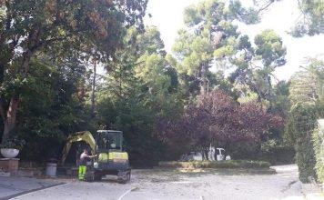 interventi villa comunale Chieti