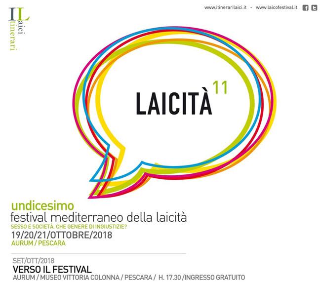 Festival Mediterraneo della Laicità 2018 programma