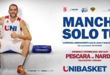 Unibasket Pescara e Lanciano campagna abbonamenti