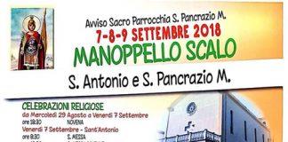 Manoppello Scalo festa patronale 2018