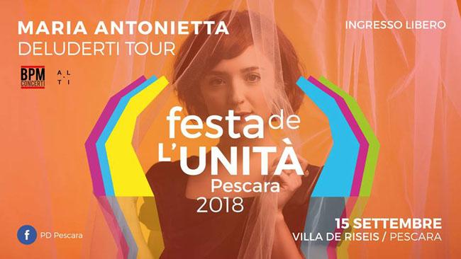 Maria Antonietta 15 settembre 2018